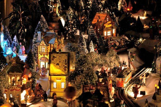 Lighted Christmas Villages