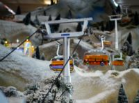 Christmas Village Ski Lift For Sale.Cable Cars Christmas Village Lemax