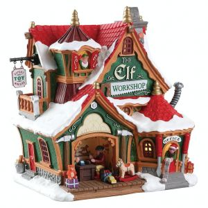 Lemax the elf workshop Santa's Wonderland 2018 - image 1