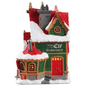 Lemax the elf workshop Santa's Wonderland 2018 - image 2